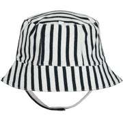 Baby Boys Navy Stripey Fishermans Sun Hat