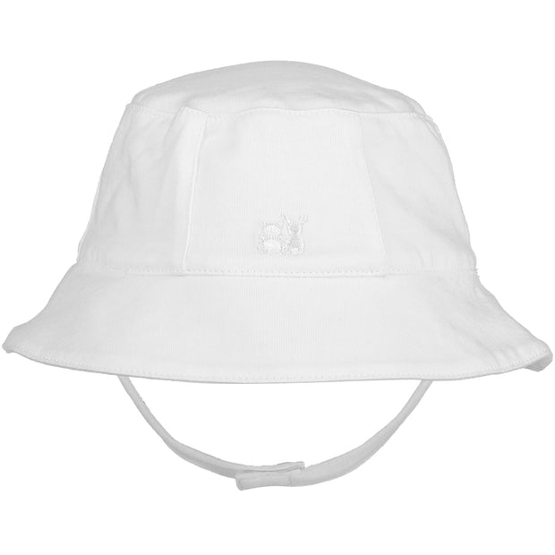 Geoffrey Baby Boys White Fisherman's Hat