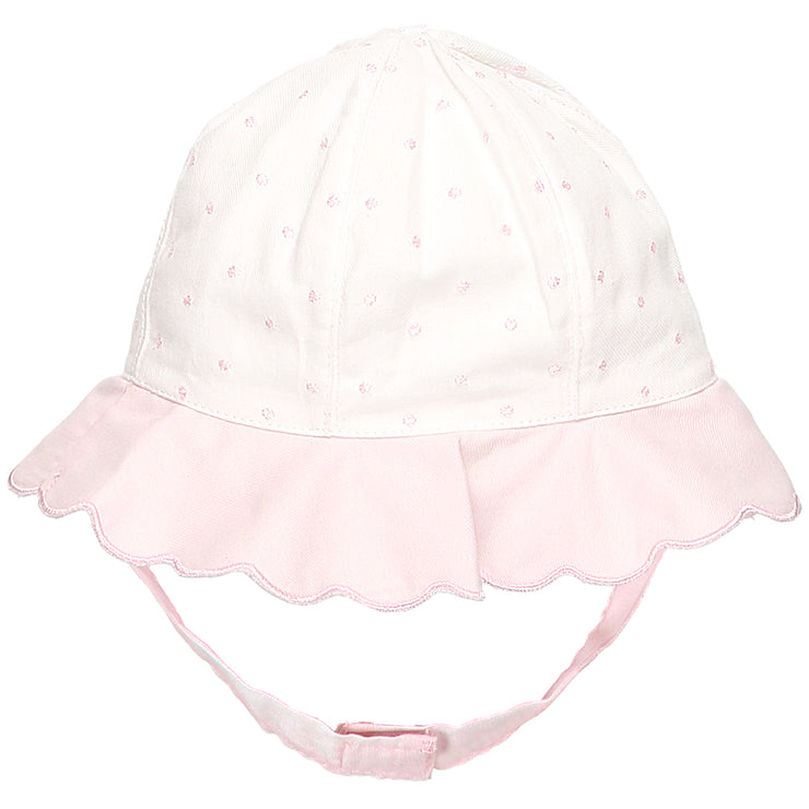 Peyton Spot Baby Girls Sun Hat