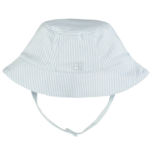 Selwyn Blue Striped Fishermans Hat