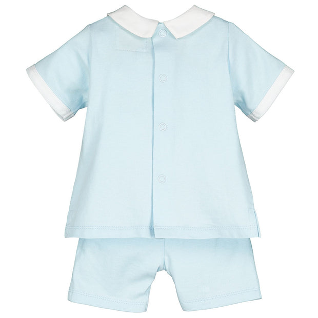 Sandler Blue Outfit Set with Hat
