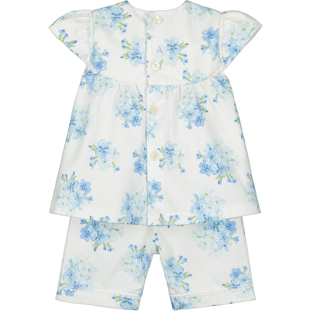 Willow Navy Floral Set with Hairband
