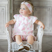 Willow Pink Floral Set with Hairband