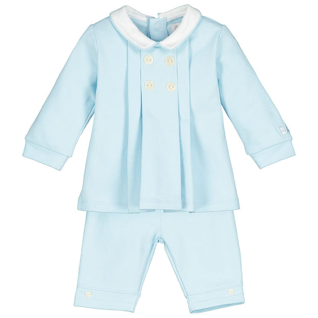 Sven Baby Blue Top & Trouser Set