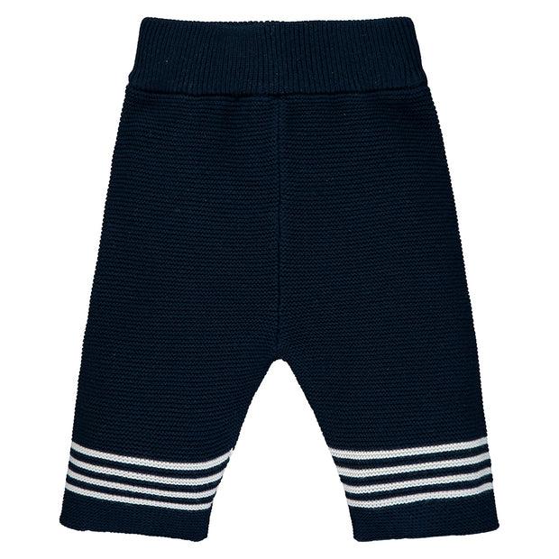 Silas Navy Knitted Outfit Set