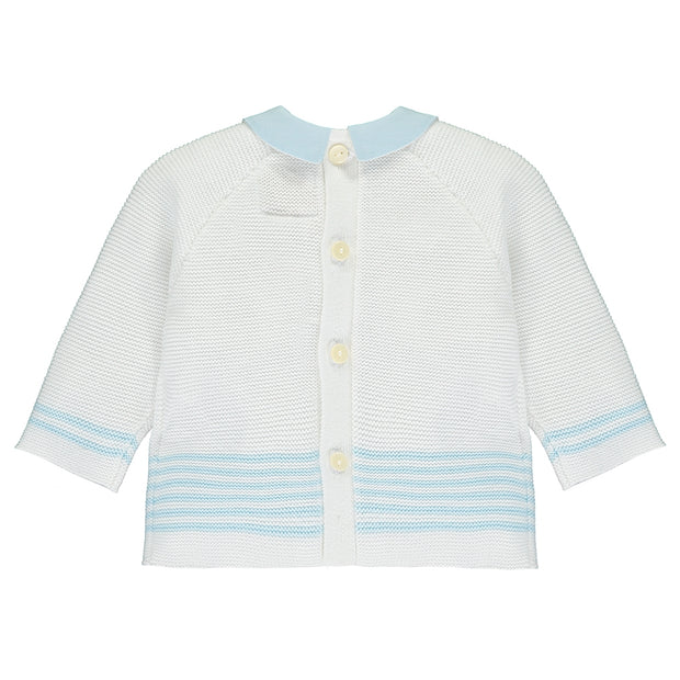 Silas Blue Knitted Outfit Set
