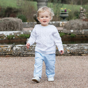Trent Boys Knit Top & Trouser Outfit