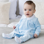 Thierry Cute Boys Velour Outfit