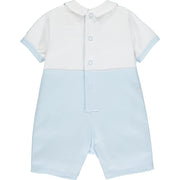 Wilfred Embroidered Baby Boys Bibshort