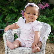 Wilhemina Baby Girls Romper & Hairband