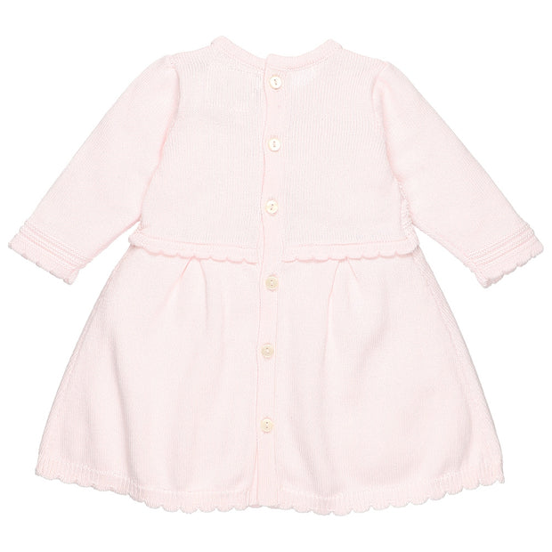 Rhiana Pretty Knit Baby Girls Dress Set