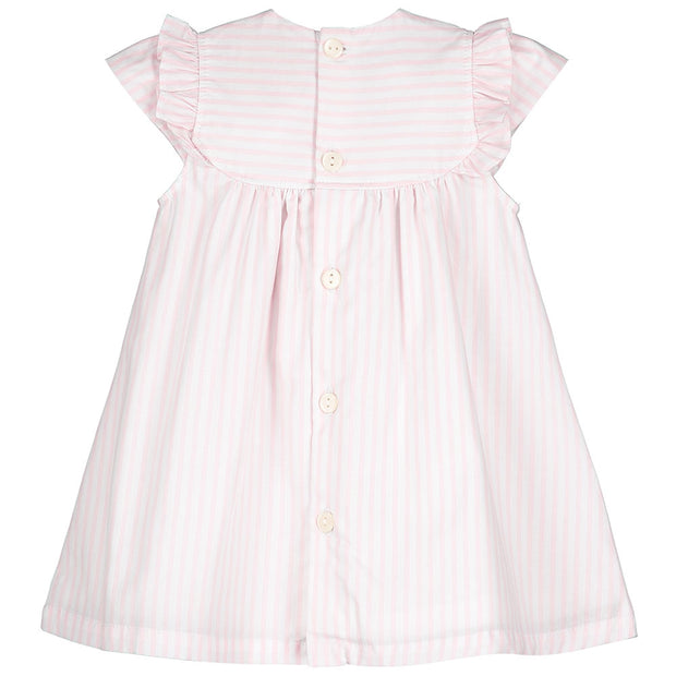 Sabrina Baby Pink Striped Dress