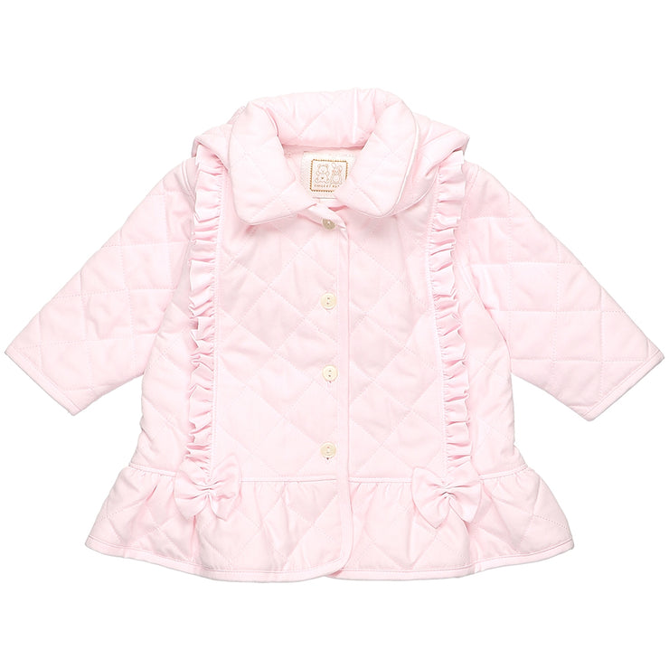 Parisa Pretty Baby Girls Quilted Jacket