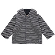 Rudy Navy Striped Baby Boys Jacket