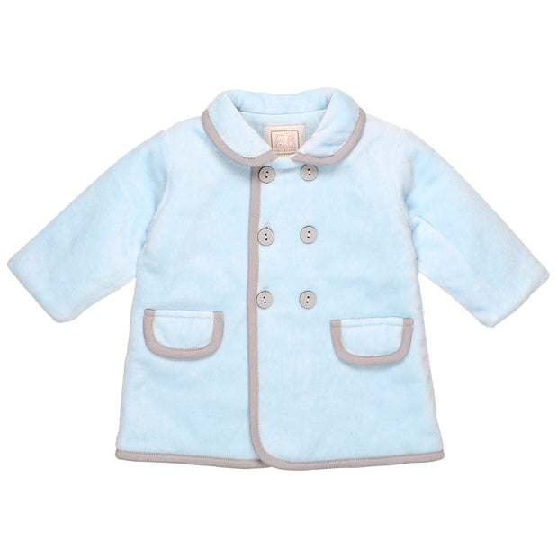 Raphael Smart Blue Baby Boys Coat