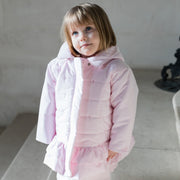 Trisha Girls Padded Jacket with Hood & Mitts