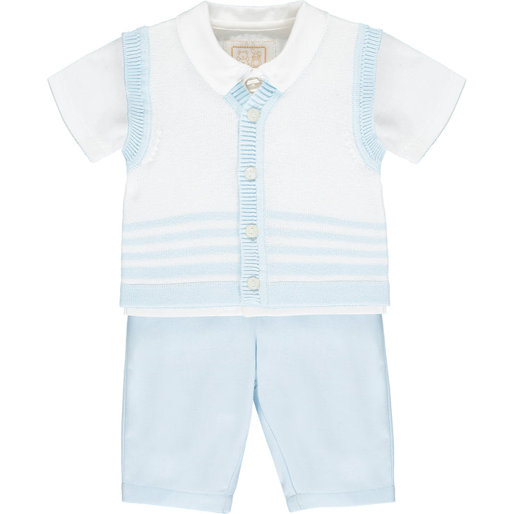 Warwick Blue Traditional Boys Set