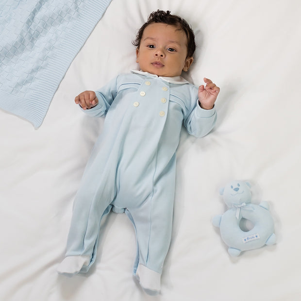 Seb Boys Babygrow & Hat Set
