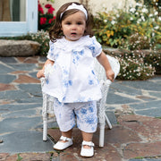 Siobhan Navy Floral Outfit Set
