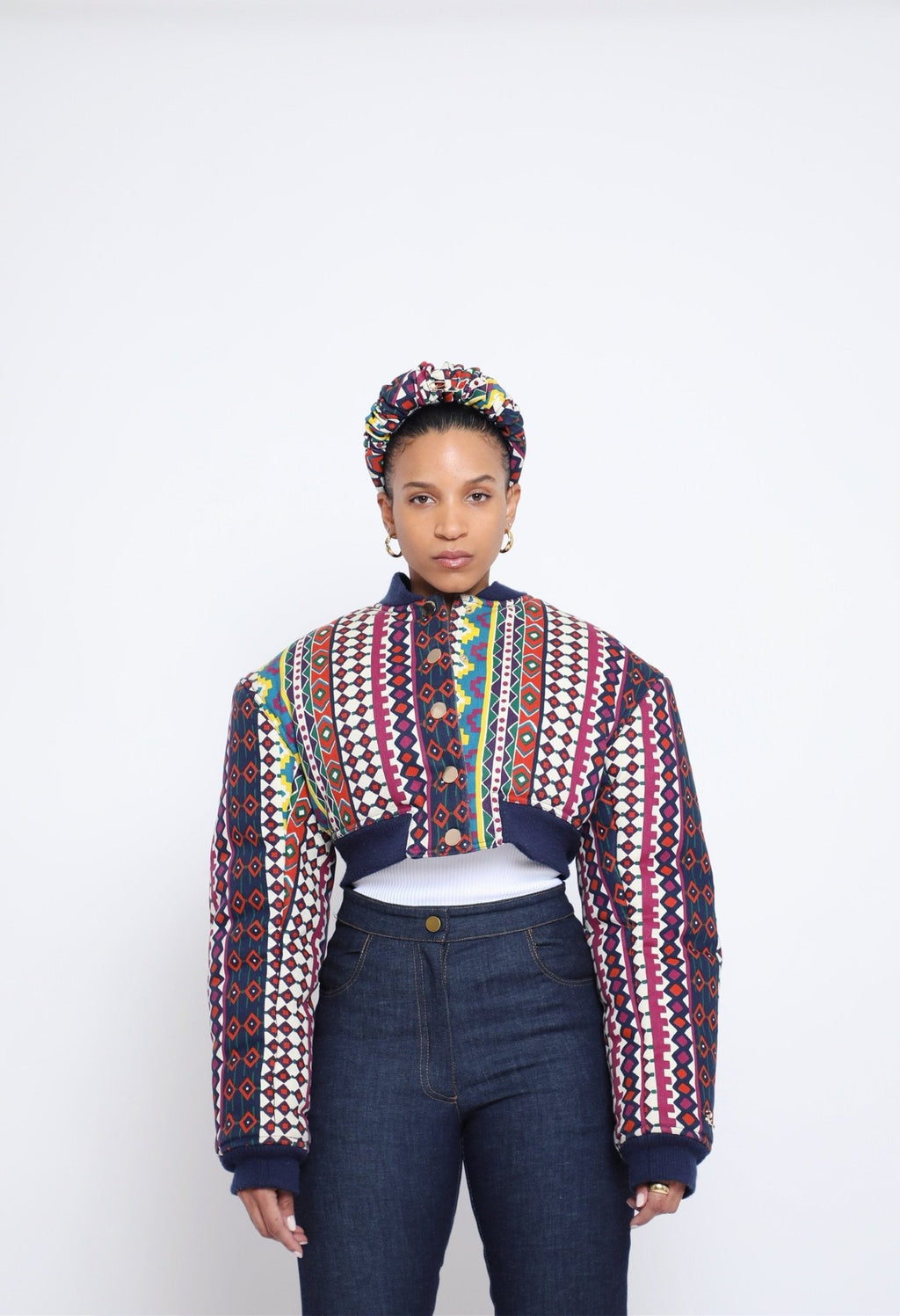 Tia Bomber Jacket - Tribal Limited Edition