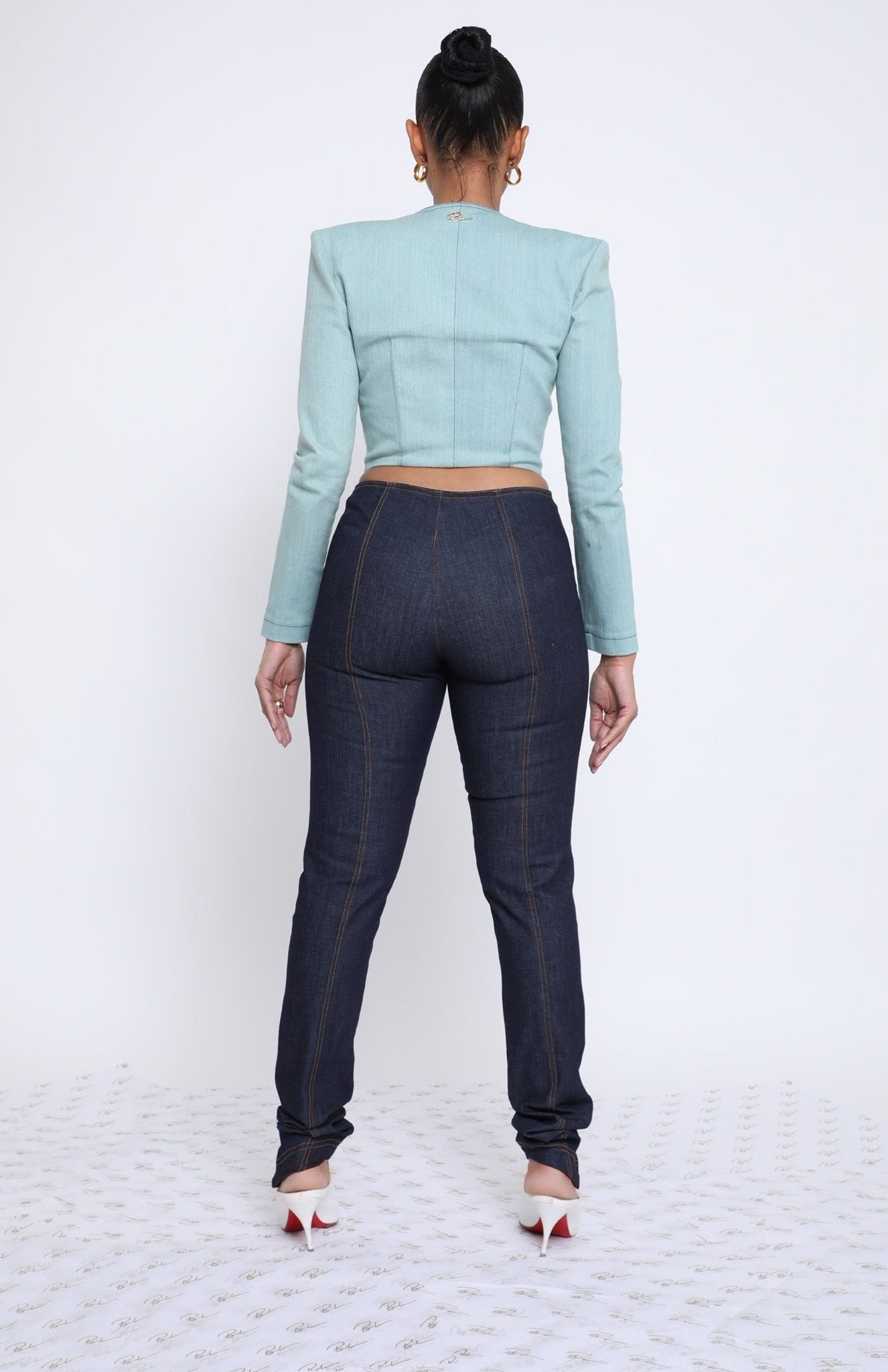 Tasha Pants - Dark Blue Hue