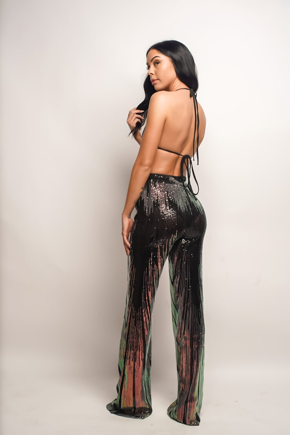 Life of The Party | Sequin Pant Set