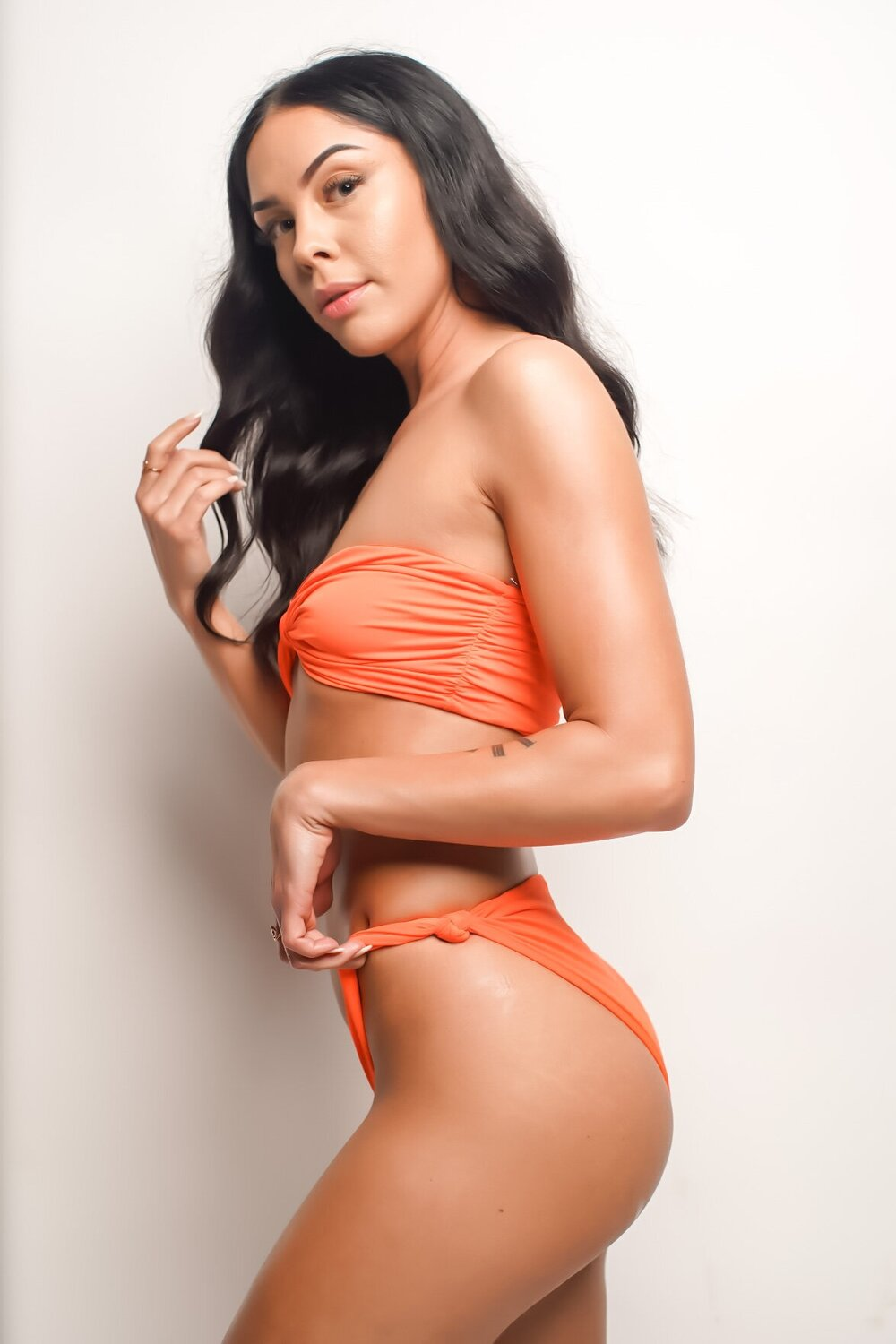 Orange Dream | Knot Bikini Set