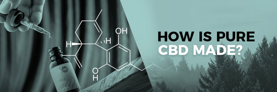 how is pure cbd made nu-x