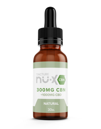Natural CBN + CBD Tincture
