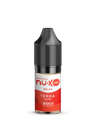Sativa AC/DC CBD Liquid Concentrate - Terra