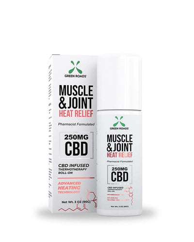 Green Roads Heat Relief CBD Muscle and Joint Roll-On - 150 mg