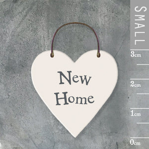 New Home Mini Keepsake Heart