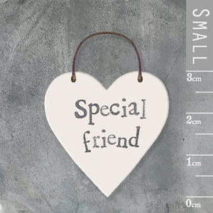 Special Friend Mini Keepsake Heart