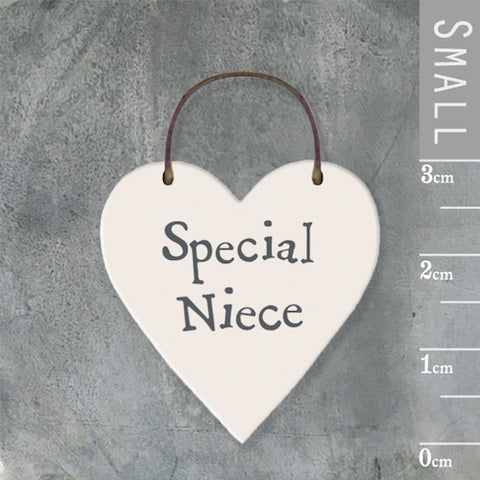 Special Niece Mini Keepsake Heart