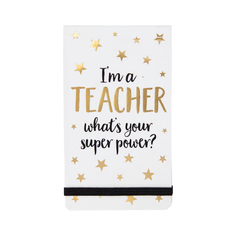 Teacher Superpower Pocket Notepad