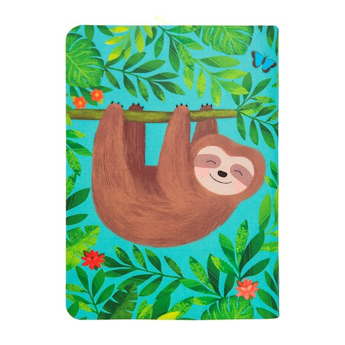 Sloth Mini Pocket Notebook