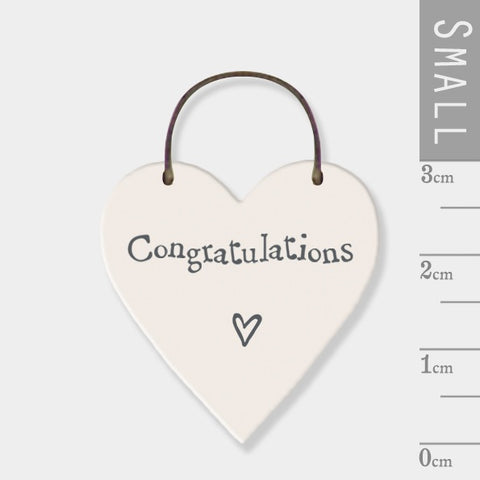 Congratulations Mini Keepsake Heart