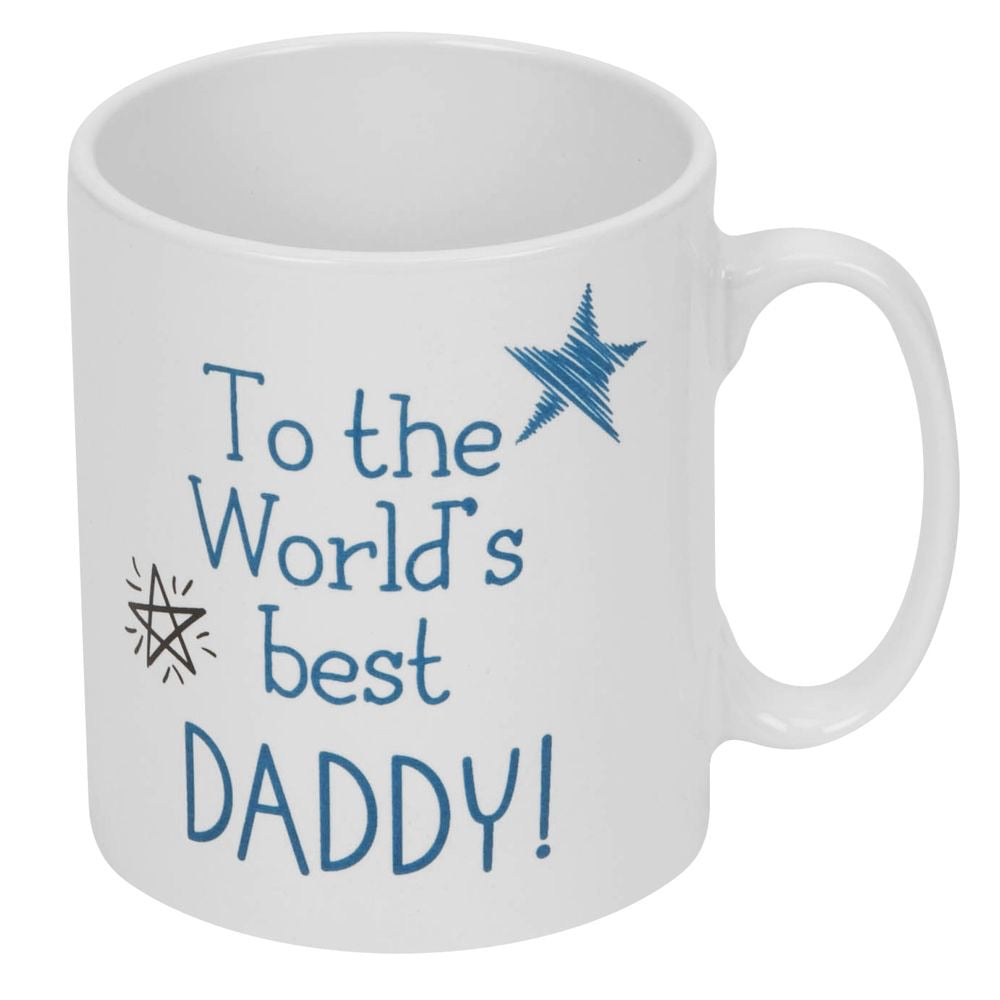 To The World's Best Daddy Mug