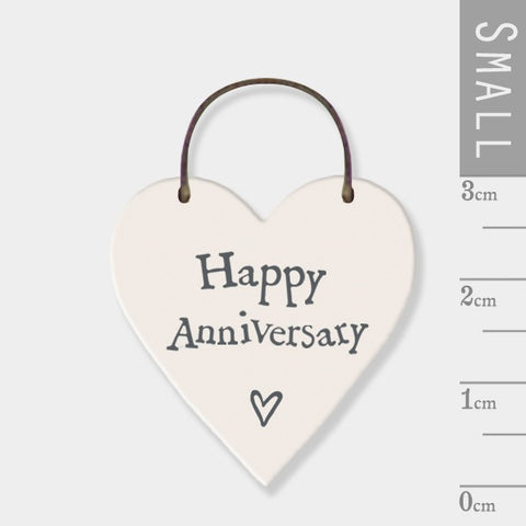 Happy Anniversary Mini Keepsake Heart