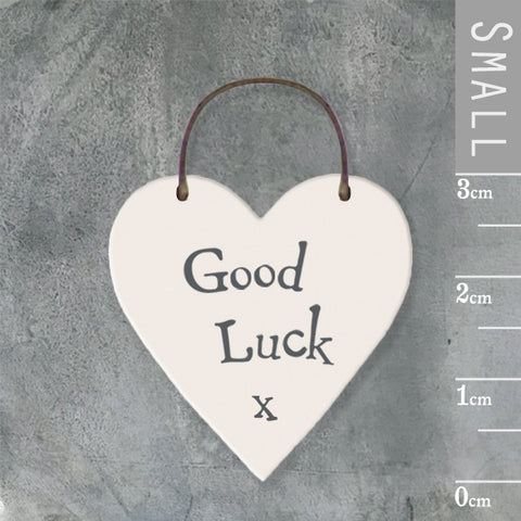 Good Luck Mini Keepsake Heart