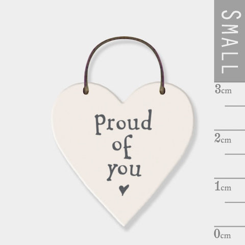 Proud Of You Mini Keepsake Heart