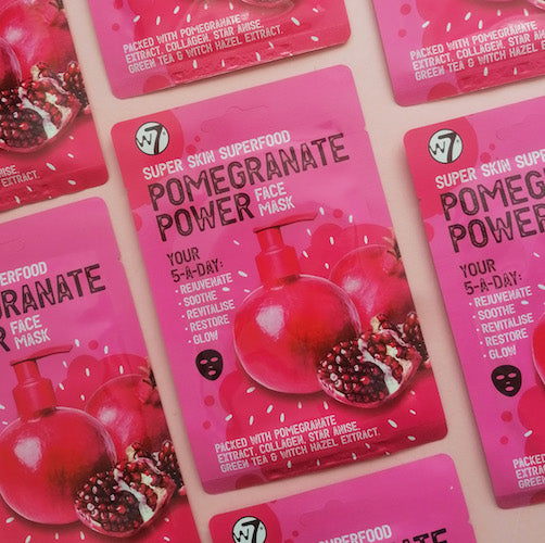 Pomegranate Power Face Mask