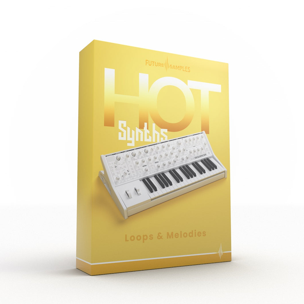 Hot Synths - Loops & Melodies - Future Samples