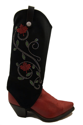 Canadian Cowgirl's cowboy boot cover