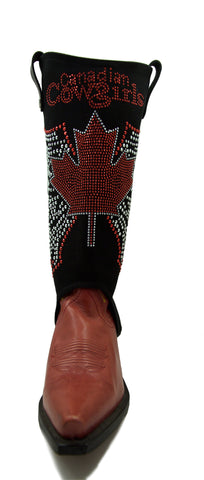 Canadian Cowgirls boot covers