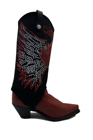 Canadian Cowgirl boot covers