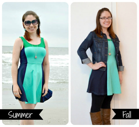 summer to fall fashion