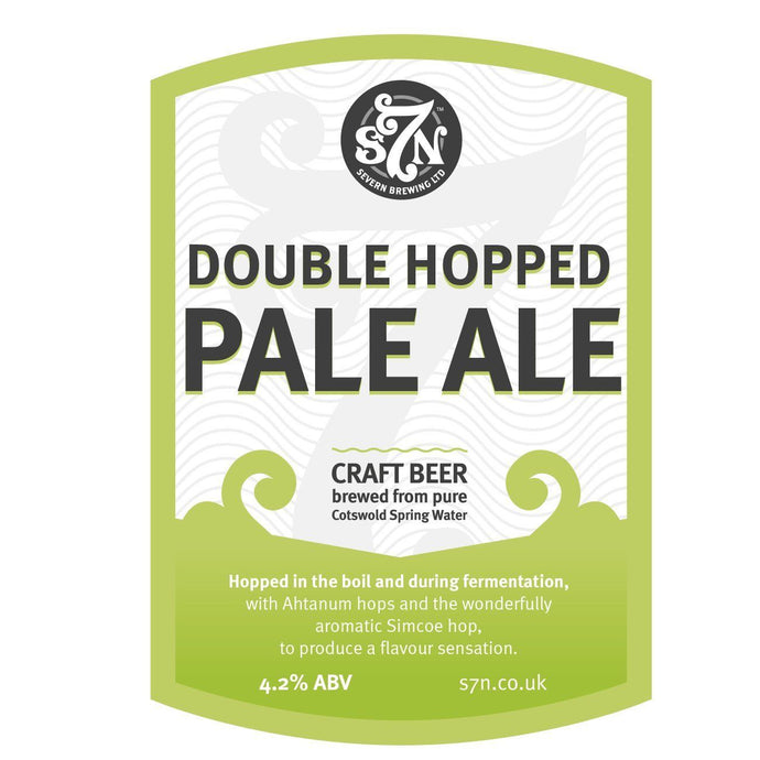 DOUBLE HOPPED PALE ALE 20L - DIRECT FROM S7 BREWERY
