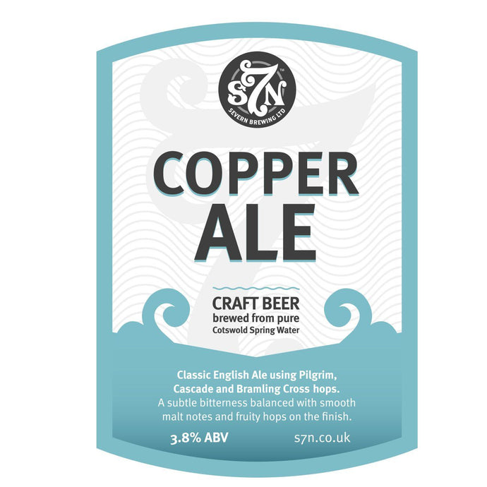 COPPER ALE 20L -  DISPATCHED DIRECT FROM BREWERY
