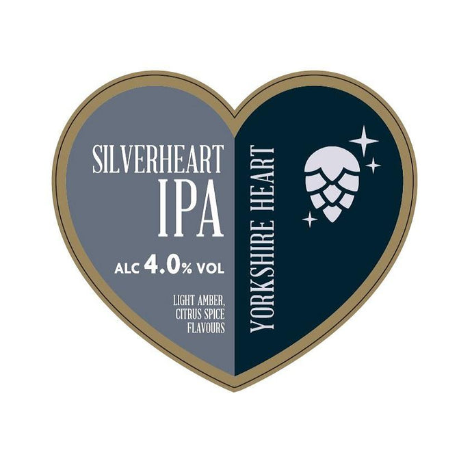 SILVERHEART IPA 20L - DIRECT FROM YORKSHIRE HEART BREWERY